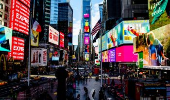 Programmatic advertising Times Square